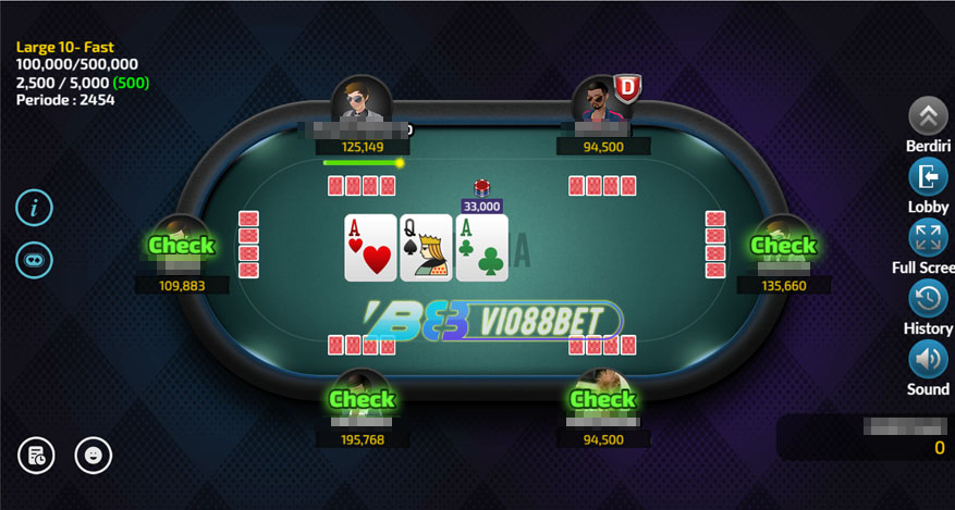 Game Omaha IDNPoker Vio88Bet