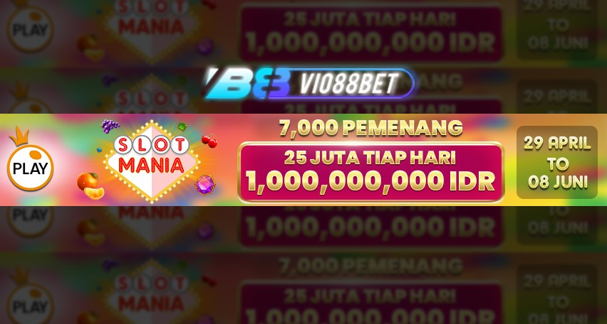 Vio88bet, Promo slot game, situs slot online terpercaya, agen idnsport, game pragmatic, sicbo
